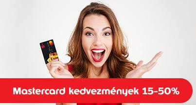 Regisztrálja kártyáját a Mastercard oldalon!